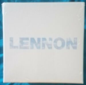 John Lennon - Lennon Box Set - 10CDs + 60-Page Hard Back Book + Print - Sealed