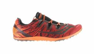 Saucony Mens S Carrera Xc 3 Red/Orange Running Shoes Size 14 (1873126)