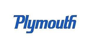 Custom Made 1x Plymouth Vinyl Decal / Sticker, Choose Color