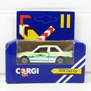 BMW TRACK CAR - VINTAGE 1984 CORGI 1:64 DIE-CAST CAR - MINT IN BOX