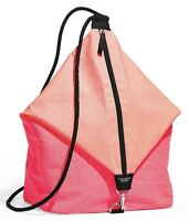 VICTORIA'S SECRET PINK SLING BAG BEACH BACKPACK TOTE CANVAS PURSE SHOULDER SWIM