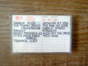 MC5 LIVE IN DETROIT 1969 Cassette, Live source unknown, presumed bootleg.