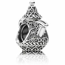 New 	Authentic Pandora Sterling Silver Arabian Teapot Charm 791756