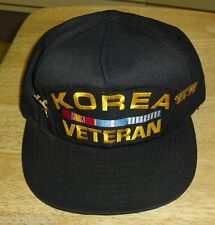 Korea Veteran hat Snapback hat Vietnam Military army navy marines w/ 2 pins VFW