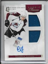 11-12 Rookie Anthology Cameron Gaunce Rookie Dual Jersey Auto # 165 #d/499