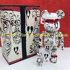 Medicom Be@rbrick 2019 Phil Frost 400% + 100% version #2 bearbrick Set