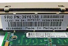 39Y6137 39Y6138 IBM INTEL PRO/1000 PT QUAD PORT PCIe GIGABIT ETHERNET NIC