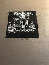 [9133 - PA1] Patch tissus pour t-shirt - coton - Punk-Powerclip world rénovation