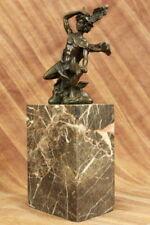 Huge Sale Statue Mercury Art Deco Style Art Nouveau Style Bronze Hot Cast Signed