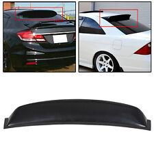 For 06-11 Honda Civic 4DR Sedan Rear Window Roof Spoiler Visor Vent Wing ABS