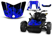Can Am F3-S Spyder Roadster Hood Graphic Kit Decal Sticker Wrap 2015-2016 ICE U
