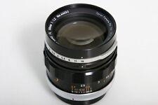 Canon FL 58mm f1.2 Prime Lens 50mm fits FD * manual focus * CLA'd