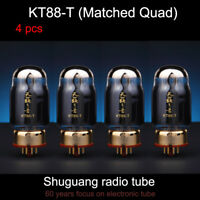 4PCS Matched Quad Natural Sound KT88-T (KT88) electron Vacuum Tube Shuguang
