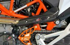 Protezione paracalore KTM 690 2019 scarico collettore carbonio Tekmo SM Project