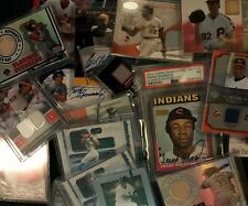 10+ Hits MLB Auto & Game Used Relic ONLY Lot Guaranteed GU RC HOF Star PSA NM-MT