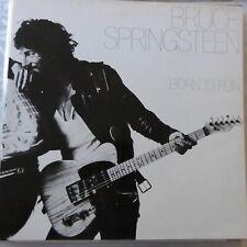 BRUCE SPRINGSTEEN LP BORN TO RUN 1980 EUROPE REISSUE VG++/VG++ HALF SPEED MAST.