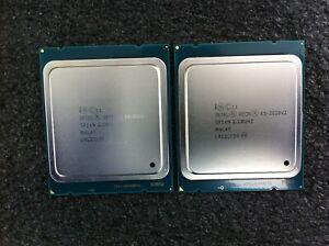 Matched Pair (2) Xeon E5-2620 V2 2.10GHz 6-Core CPU SR1AN LGA2011 - CPU576