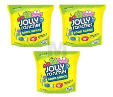 Jolly Rancher Sour Surge 3 Bags Bulk Vending Machine 13 Oz Hard Candy Candies