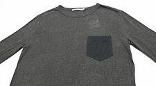 T By ALEXANDER WANG Contrast-Pocket Long-Sleeve Jersey Tee T-Shirt XS X-Small