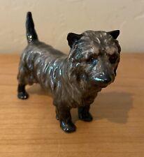 Royal Doulton England Cairn Terrier Dog Bone China Figurine