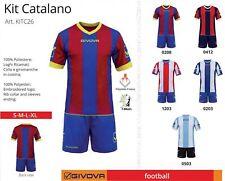 Completi Calcio-Calcetto KIT CATALANO GIVOVA (Maglia + Pant.) minimo 10 KIT