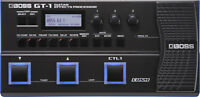 Boss GT-1 Portable Guitar Control Multi Effects Processor with Expression Pedal