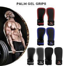 Weight Lifting Gym Palm Gel Pad GYM Grips Wrist Support Straps Training Gloves
