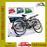2 BIKE CYCLE UNIVERSAL CARRIER BIKE FOLDABLE RACK CAR SALOON HATCHBACK STRAP