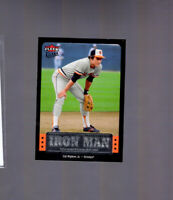 2007 Fleer Ultra Iron Man Cal Ripken Jr #UIM-3 HOF Baltimore Orioles