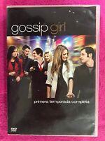 GOSSIP GIRL PRIMERA 1ª TEMPORADA COMPLETA 5 x DVD ESPAÑOL INGLES AM