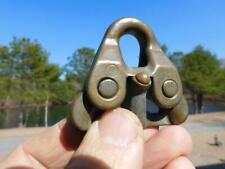Antique Vintage Merriman Bronze Snap Shackle Rope Wire Sailboat Hardware Parts