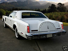 1977 Lincoln Continental MARK V, White #2, Refrigerator Magnet, 40 Mil
