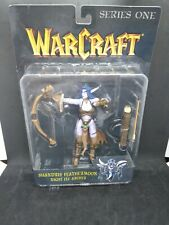 2003 Warcraft 3 Series 1 One Shandris Feathermoon Night Elf Archer Figure MOC