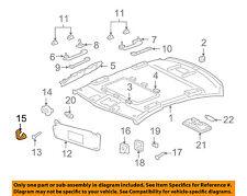 JAGUAR OEM 09-15 XF Interior-Roof-Sunvisor Cover Left C2Z5148AMN