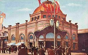 Orange Blossom Model Candy Factory Pan Pacific Exposition San Francisco postcard