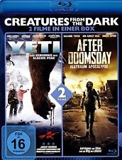 2 Horrorfilme BLU-RAY - Yeti & After Doomsday - u.a Adrian Paul, Chuck Campbell