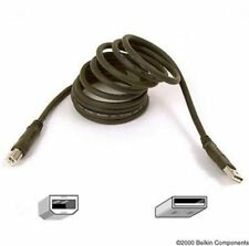 NEW BELKIN PRO SERIES HI-SPEED USB 2.0 A-B CABLE 1.8M 20-GAUGE POWER WIRES GOLD