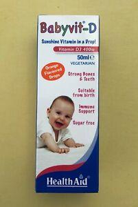 HealthAid Babyvit-D drops 50 ml