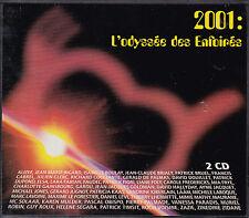 DOUBLE CD DIGIPACK 18T + MEDLEY L'ODYSSEE DES ENFOIRES 2001 FABIAN/ZAZIE/GOLDMAN