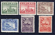 CHINA PRC Sc#6L57-62 Perf 1949 Wuhan Liberation MNH