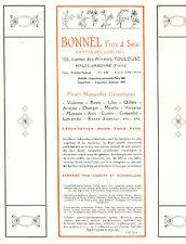 31 TOULOUSE PUBLICITE BONNEL CONFISEURS 1929