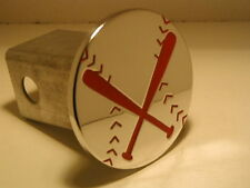 hitch cover, base ball bat red  ,tahoe,expedition,baseball