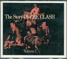 COFFRET 2 CDS 28 TITRES--THE CLASH--THE STORY OF THE CLASH / VOLUME 1 PUNK