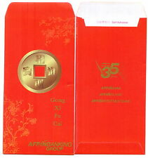 Ang pow red packet Affin 2 pcs 2012 new