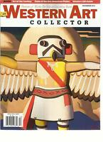 WESTERN ART COLLECTOR, DECEMBER,2012(PREVIEWS OF WORK FOR SALE AT UP COMING SHOW