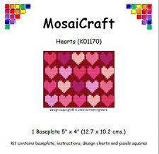 MosaiCraft Pixel Craft Mosaic Art Kit 'Hearts' Valentine Pixelhobby