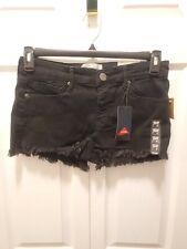 NWT Mudd Junior's Fray Hem Jean Shortie Shorts, Size 9