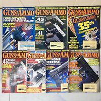 1993 Guns and Ammo Magazines - Lot of 7