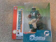 McFarlane Football NFL Series 10 Ricky Williams(#34)(blue)Miami Dolphins