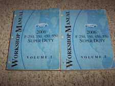 2006 Ford F-350 Shop Service Repair Manual 5.4L V8 6.8L V10 6.0L V8 Diesel OEM
